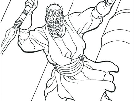 440x330 Darth Maul Coloring Pages Amazing Maul Coloring Pages Free