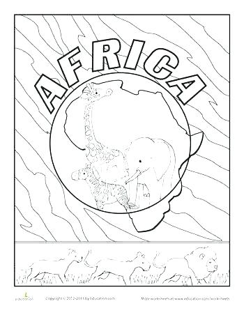 350x452 Africa Coloring Page Coloring Pages Luxury Coloring Pages Fee Page