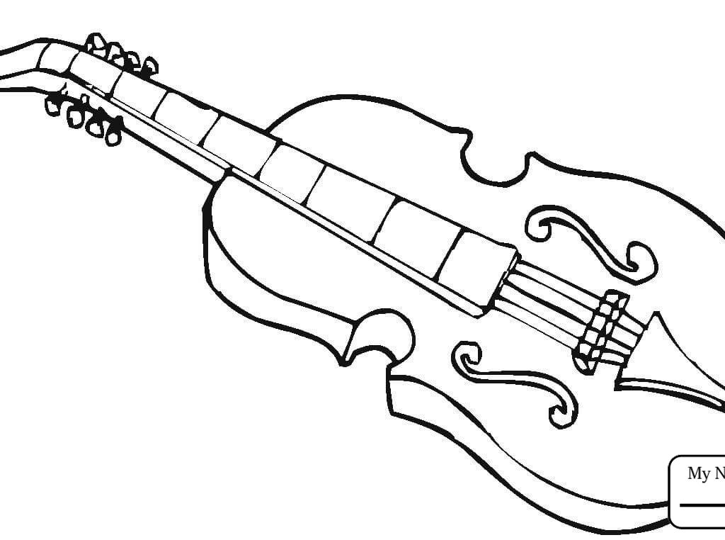 1024x762 Musical Instruments Coloring Pages For Kids Of Printable Free