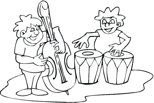 630x423 String Family Coloring Page String Family Coloring Page Fiddle