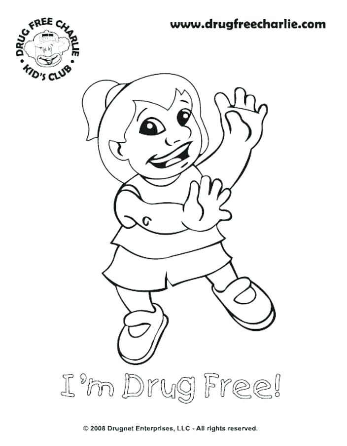 704x903 Say No To Drugs Coloring Pages Free Printable Coloring Pages