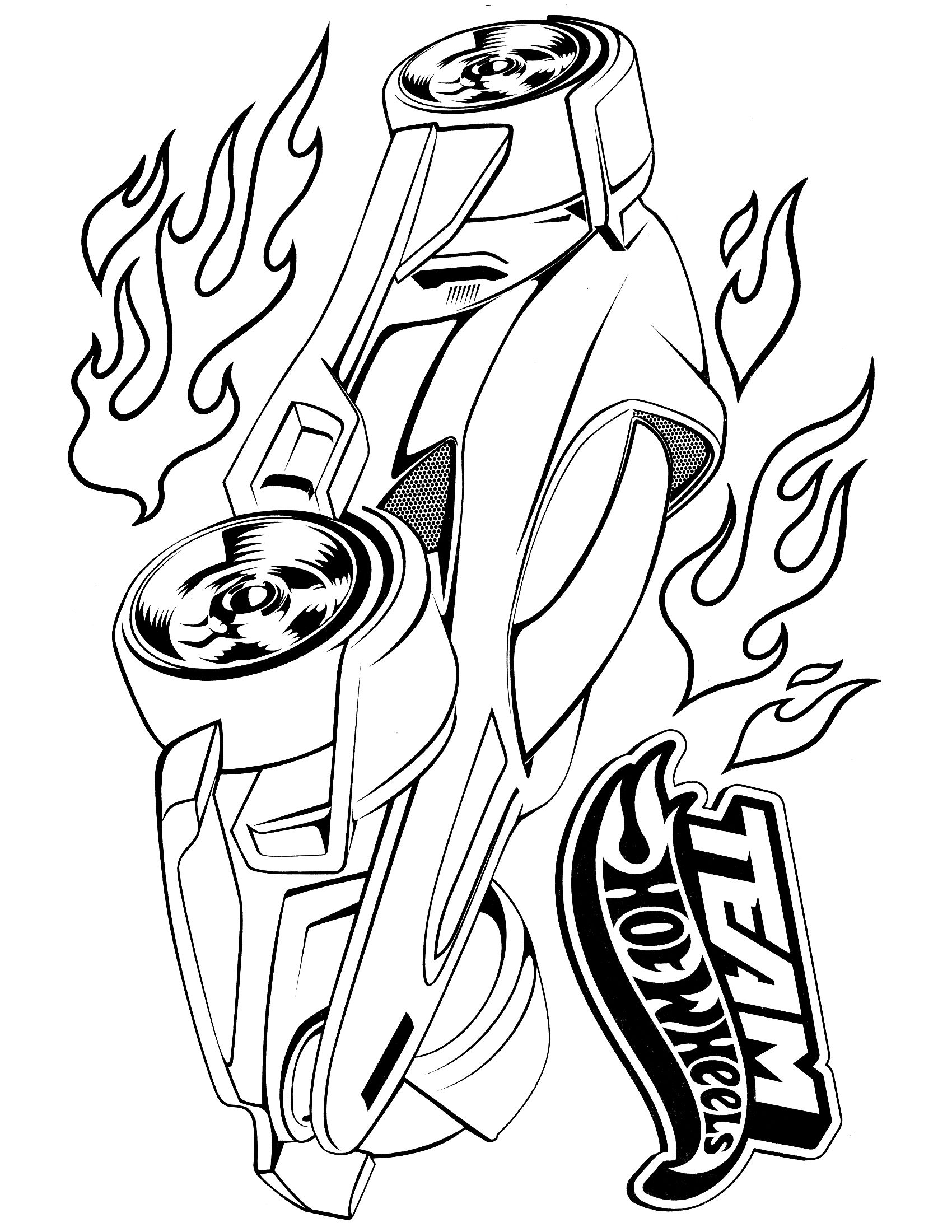 1700x2200 Hot Wheels Coloring Page Wheels, Hot Wheels