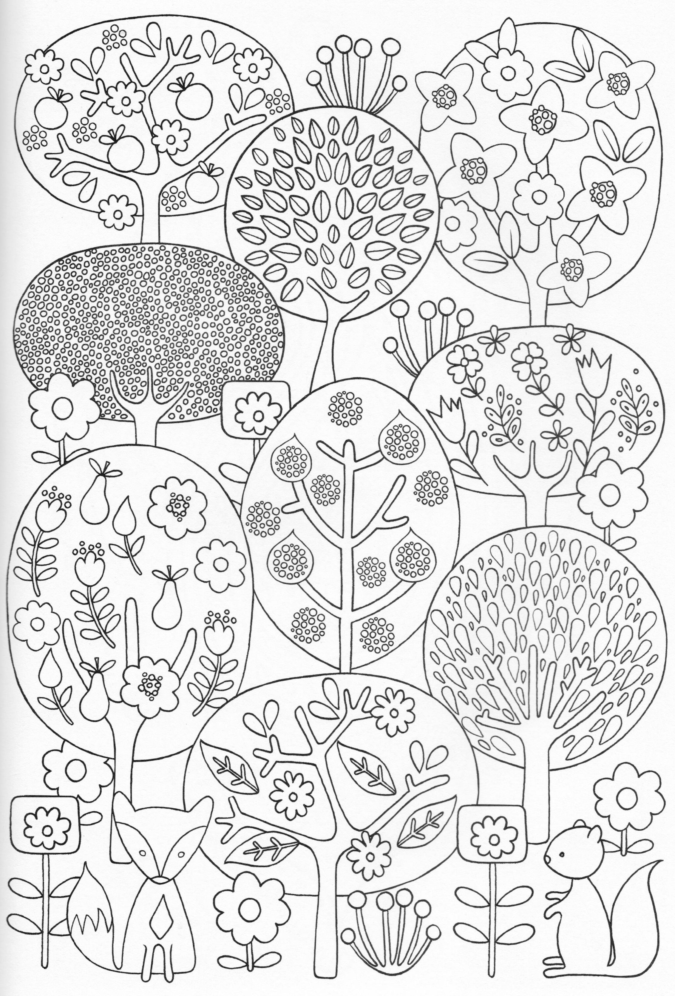 Scandinavian Coloring Pages