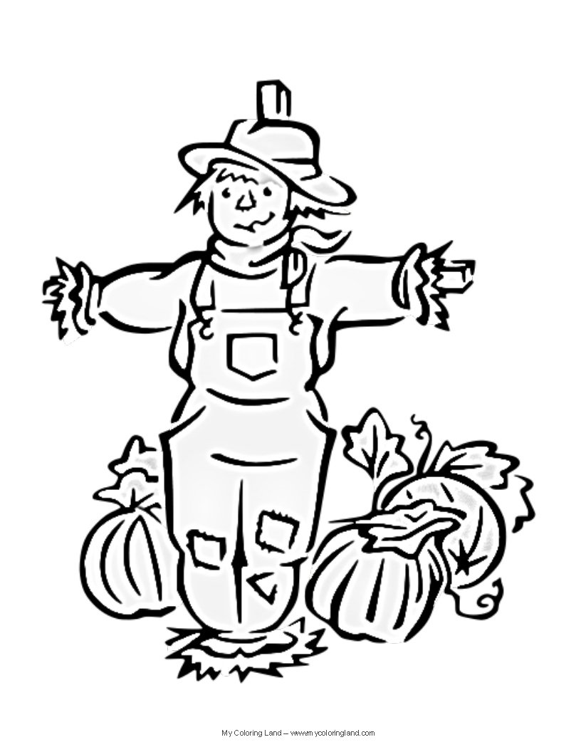 816x1056 Scarecrow Coloring Page New Scarecrow Head Coloring Page Sketch
