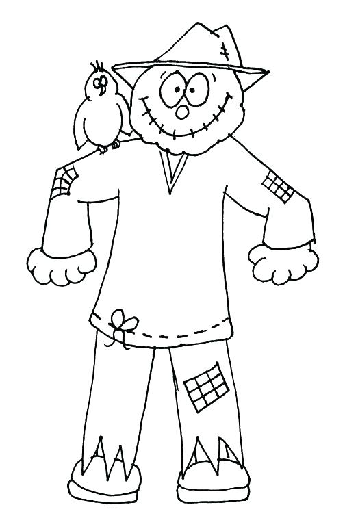 504x757 Scarecrow Coloring Pages Scarecrow Coloring Pages X A A Previous