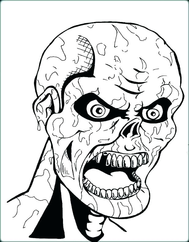 618x794 Creepy Coloring Pages This Horror Coloring Book Is Equally Creepy