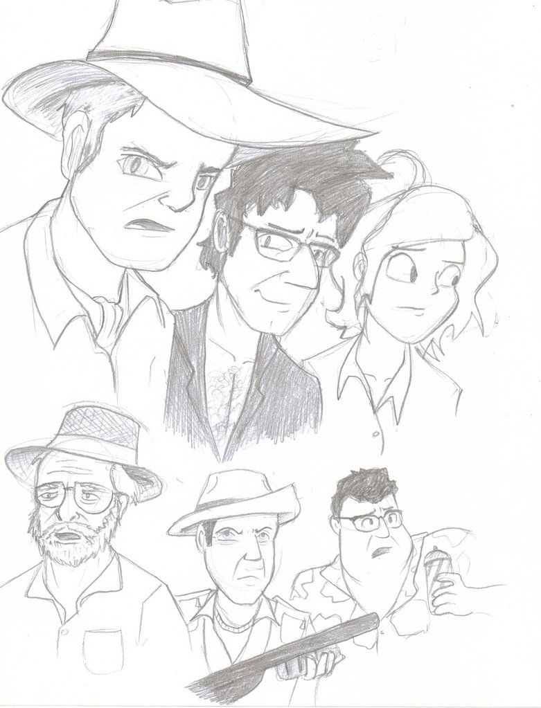 781x1023 Jurassic Park Characters Coloring Pages Color Pages
