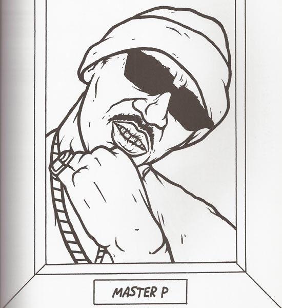 550x600 Modern Gangsta Coloring Book Inspiration