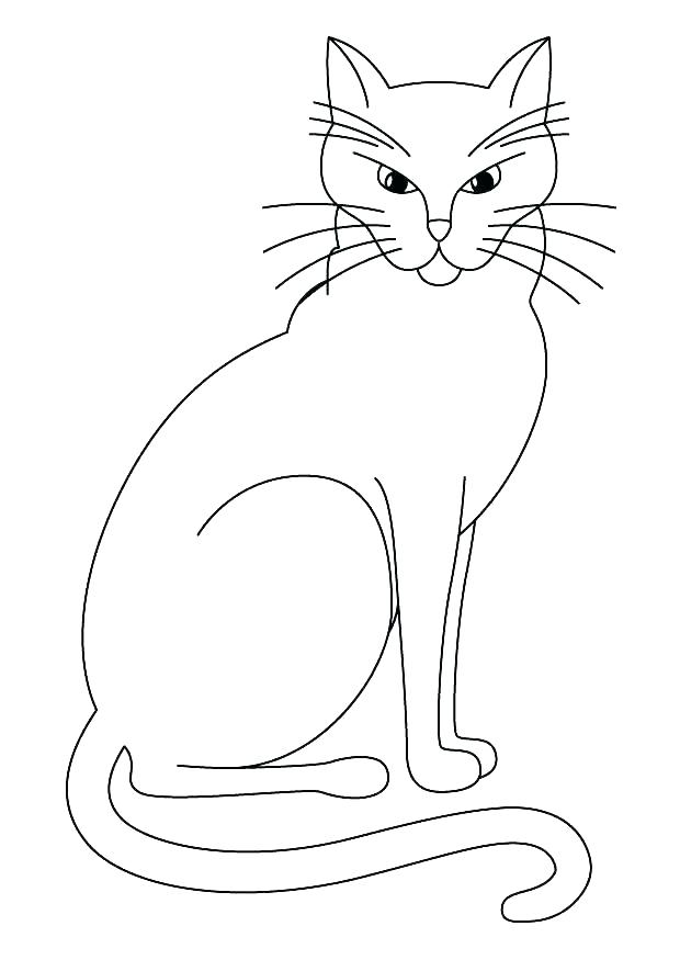 620x875 Black Cat Coloring Page Black Cat Coloring Pages Cat Coloring Page