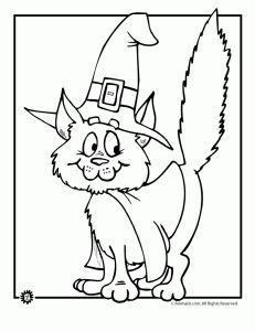 231x300 Cat Coloring Pages For Preschool Kitten Coloring Pages