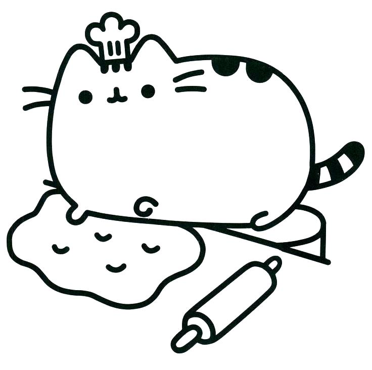 736x732 Coloring Pages Of A Cat Cat Coloring Book Pages Cat Coloring Pages