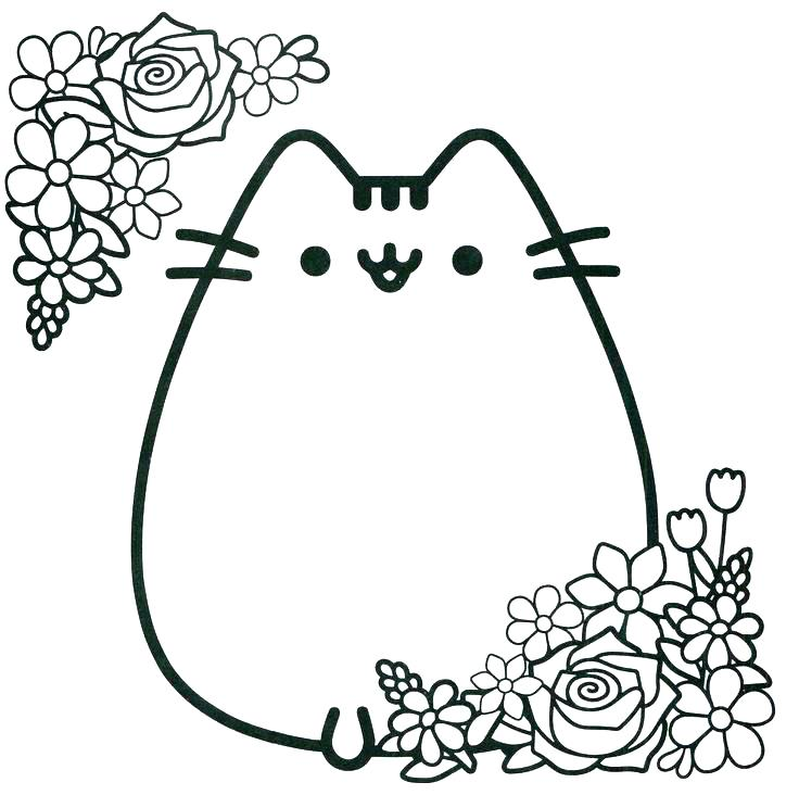 736x732 Black Cat Coloring Page Coloring Page Scary Black Cat Coloring
