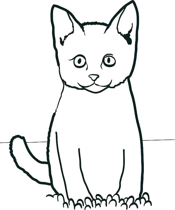 584x700 Black Cat Coloring Page Witch And Black Cat Coloring Pages