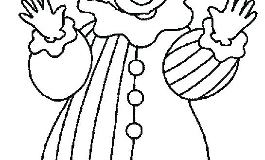 545x329 Clown Coloring Clown Coloring Pages Printable Printable Clown