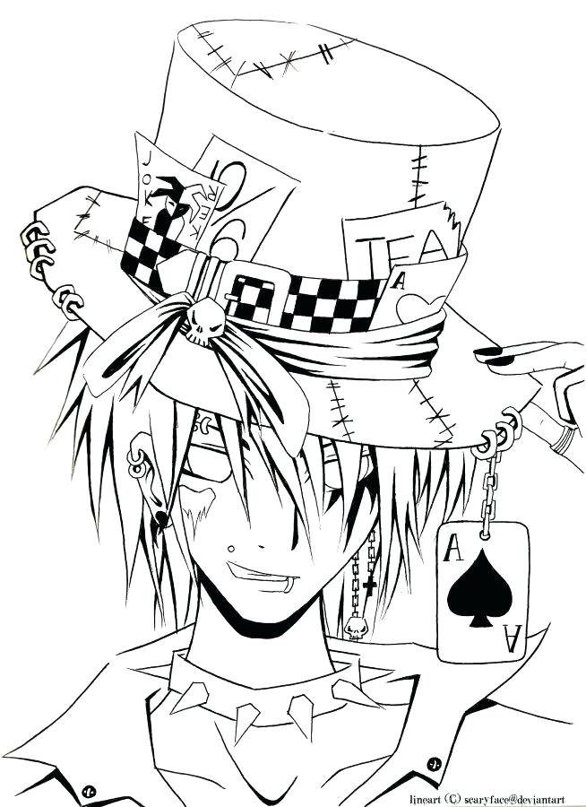 654x900 Anime Coloring Pages For Adults Printable To Humorous Page Cool