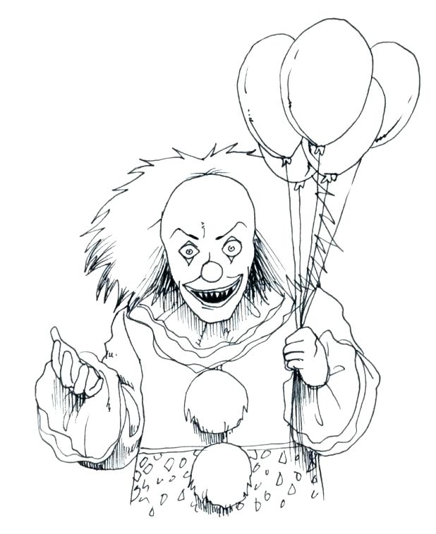 618x757 Scary Coloring Pages To Print Scary Coloring Sheets Scary
