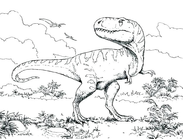 624x476 Stegosaurus Coloring Page Stegosaurus Coloring Page Scary Dinosaur