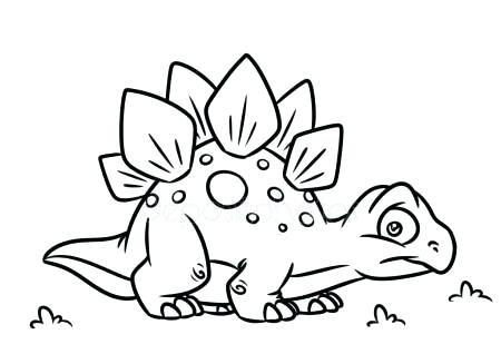 450x318 Stegosaurus Coloring Pages Scary Dinosaur Coloring Pages Dinosaur