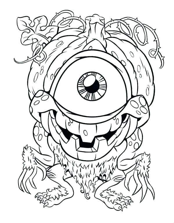 600x769 Eyes Coloring Pages Eyes Coloring Page Eye Coloring Page Monster