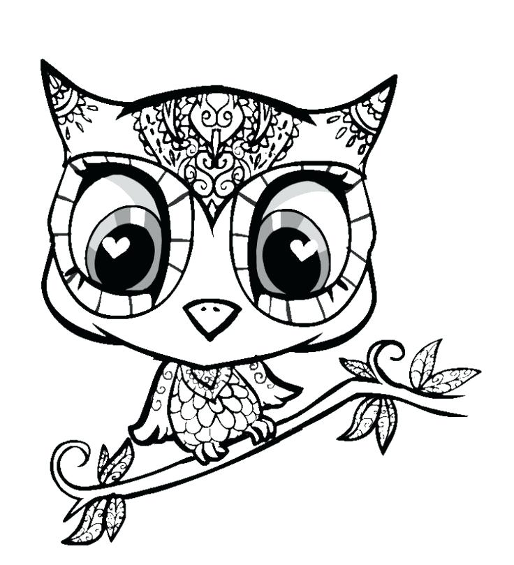 736x809 Eyes Coloring Page Cute Tiger With Big Eyes Coloring Pages