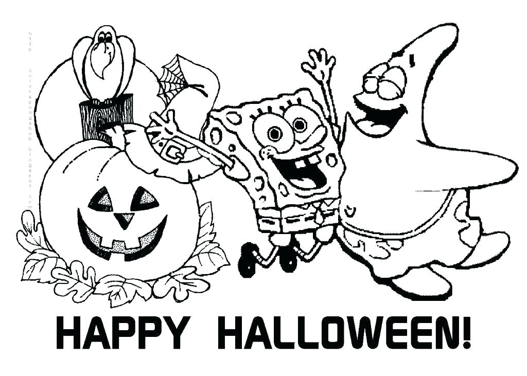 Scary Halloween Printable Coloring Pages at GetDrawings com