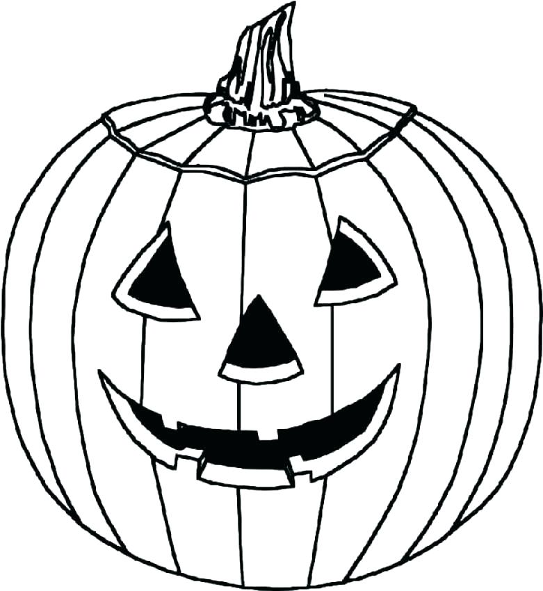 781x850 Scary Pumpkin Coloring Pages Scary Pumpkin Coloring Pages Scary