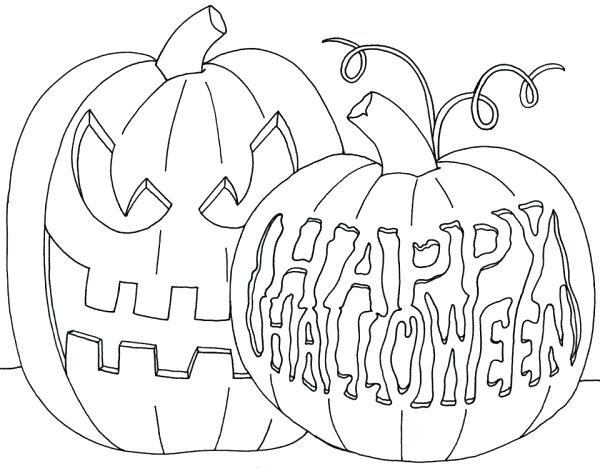 600x469 Scary Pumpkin Coloring Pages Scary Pumpkins Coloring Pages Scary