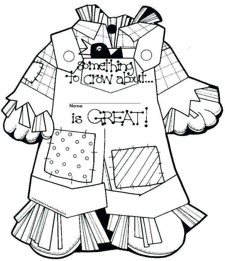 736x855 Scarecrow Coloring Pages Scarecrow Scarecrow Coloring Pages