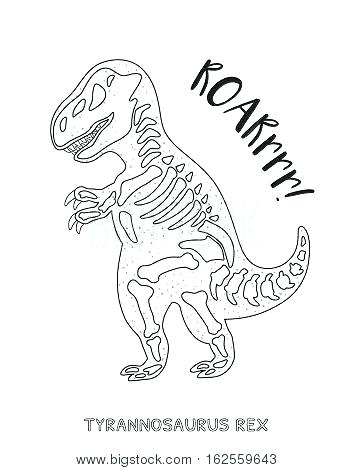 353x470 Free Dinosaur Skeleton Coloring Pages Dinosaur Dinosaur Skeleton