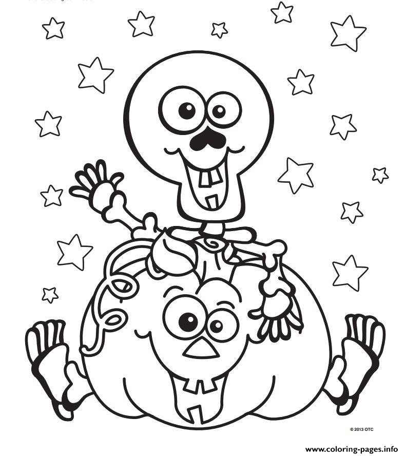 791x888 Halloween Skeleton Coloring Pages Scary Halloween Color Pages