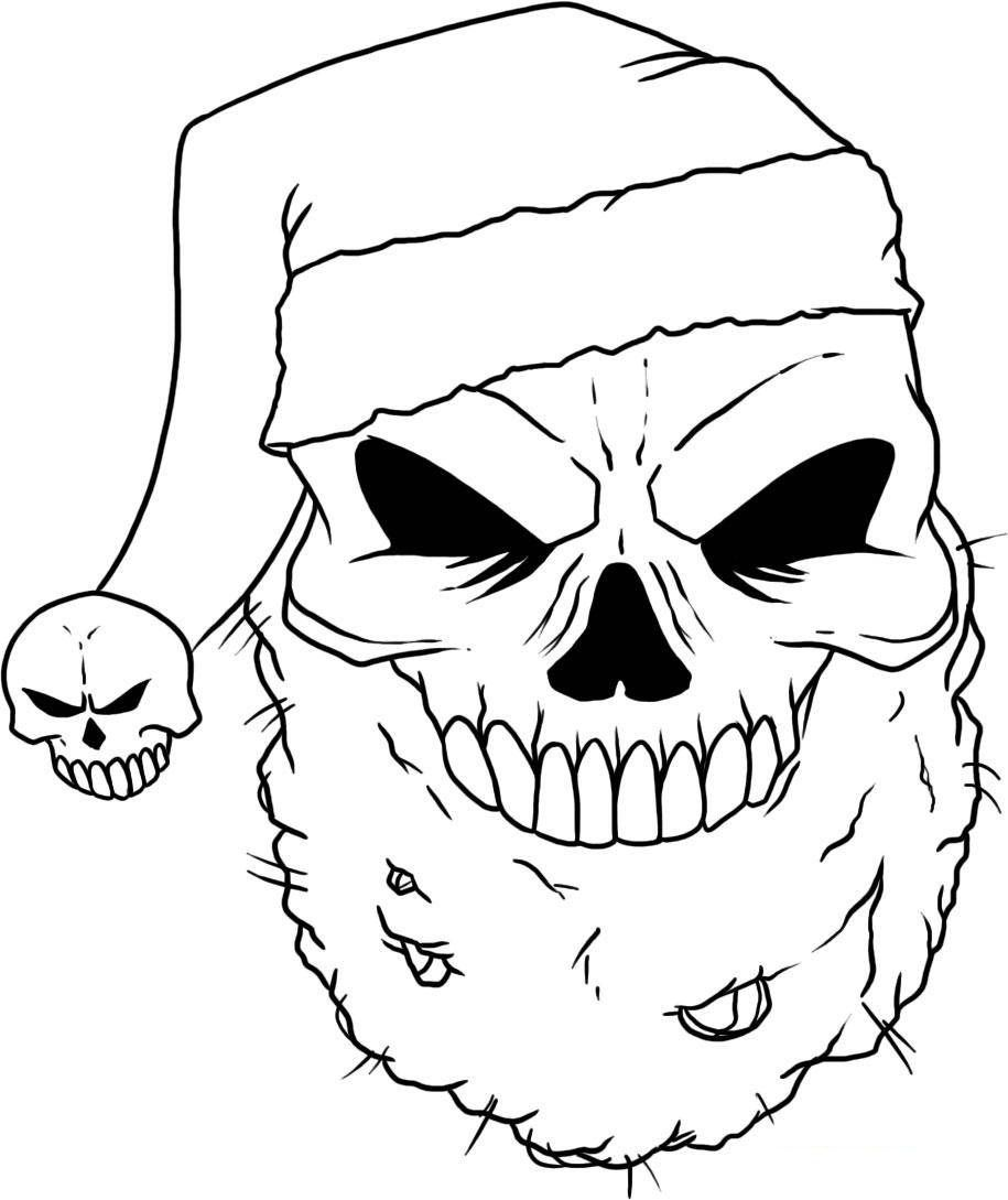 915x1089 Skull Coloring Pages Scan N Cut Ideas Adult Coloring