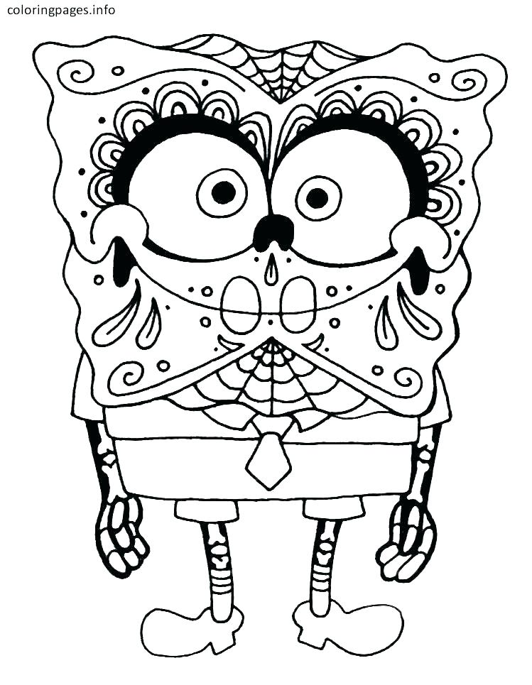 749x965 Day Of The Dead Printable Coloring Pages Sugar Skull Print Out Day