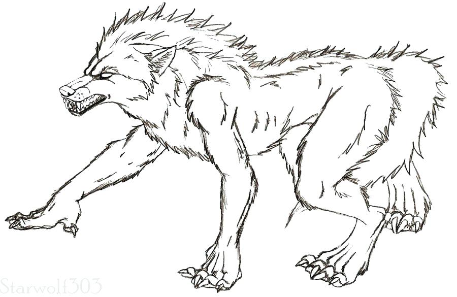 900x585 Werewolf Coloring Pages Werewolf Coloring Pages Werewolf