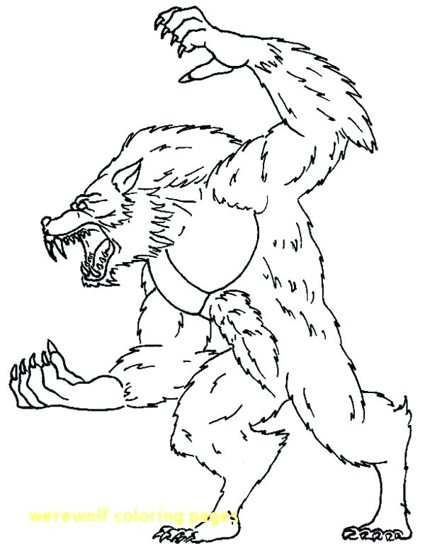 600x785 Werewolf Coloring Pages Werewolf Coloring Pages Werewolf Coloring