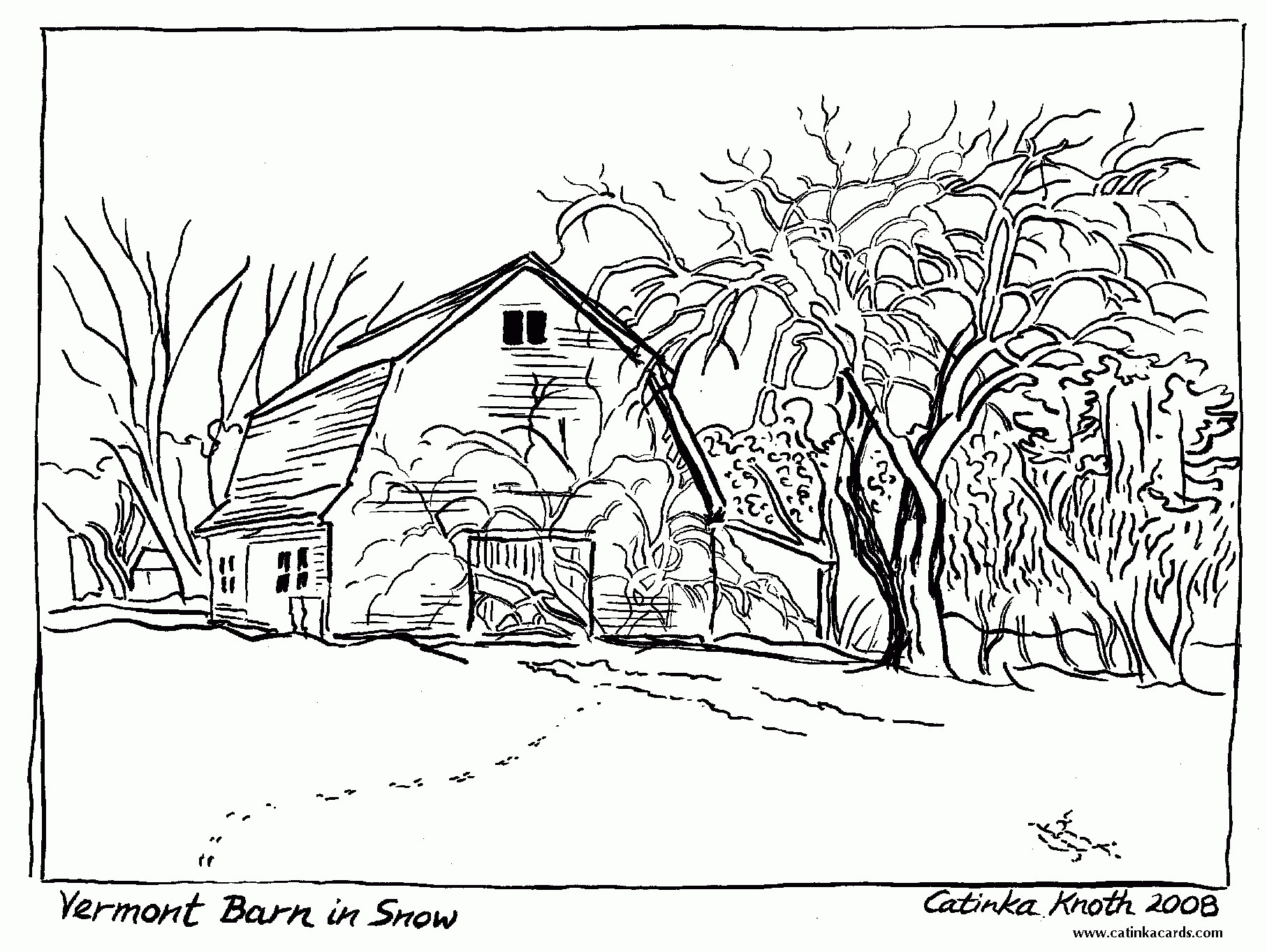 1814x1364 Free Printable Coloring Pages For Adults Landscapes Free