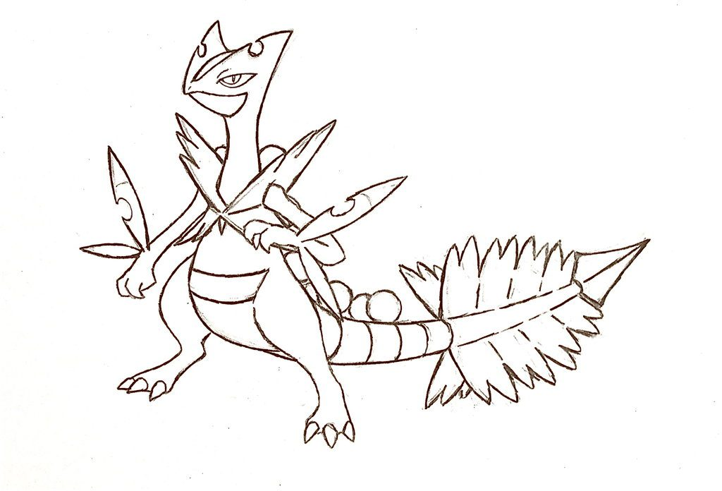 The Best Free Sceptile Coloring Page Images Download From 37 Free
