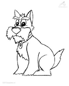 236x295 Miniature Schnauzer Coloring Page Coloring Pages