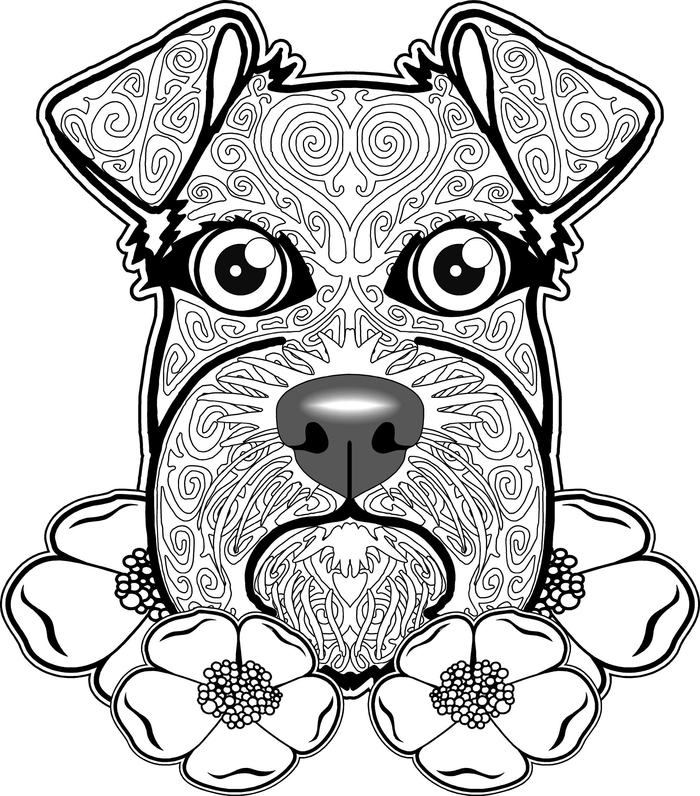 2443x2778 Dog Coloring Page, Dog Coloring Pages, Free Coloring Page, Free