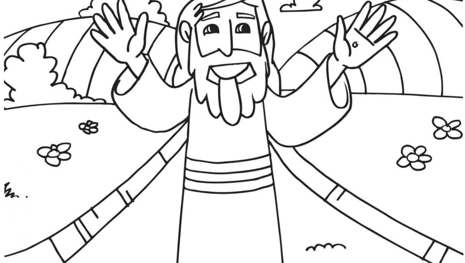 960x544 Coloring For Kids Easter Sermon Page Imposing Free Pages Printable