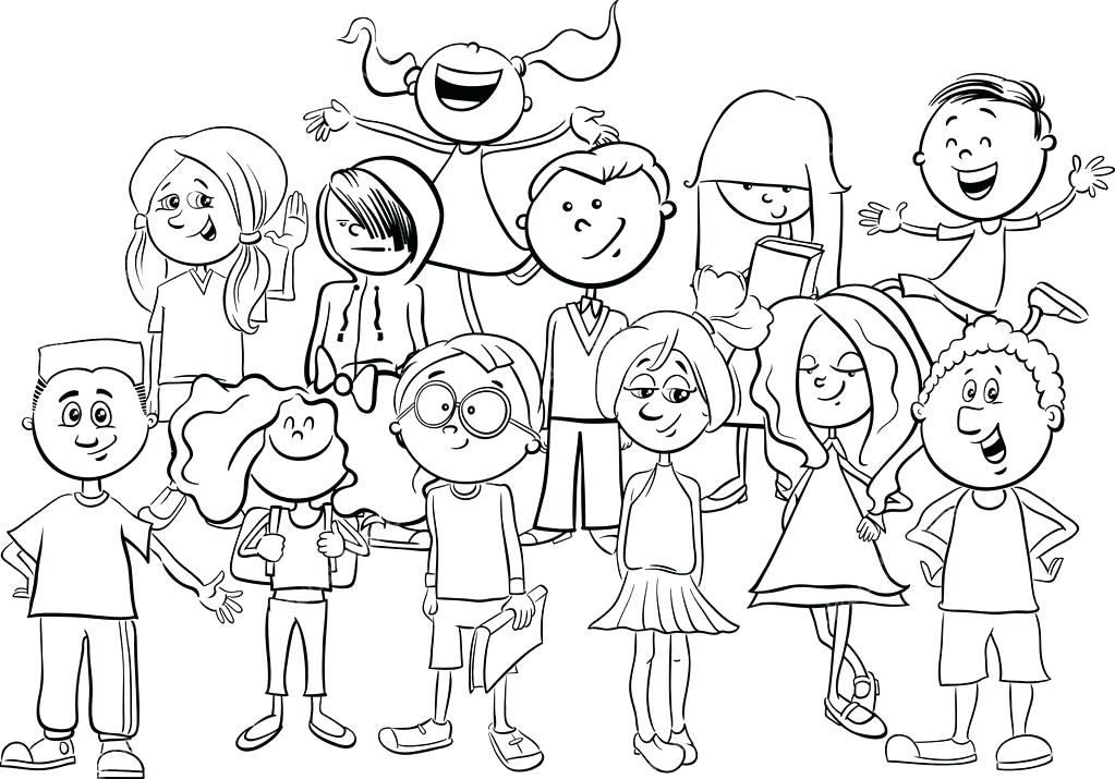 1023x715 Teen Coloring Page Printable Teen Coloring Pages Online Teen