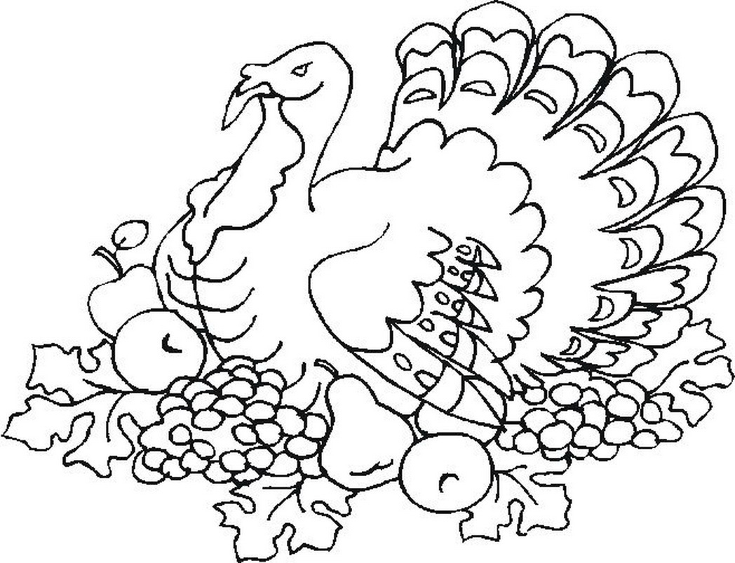 1048x803 Free Thanksgiving Coloring Pages School Age Activities