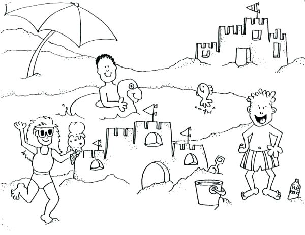 600x463 Building Coloring Pages Community Building Colouring Pages