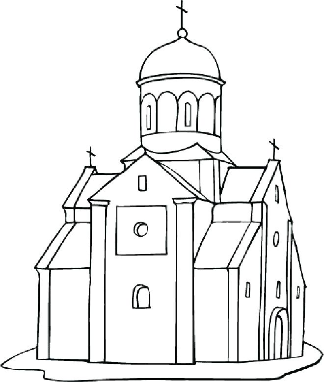 660x779 Empire State Building Coloring Pages Bridge Coloring Page Building