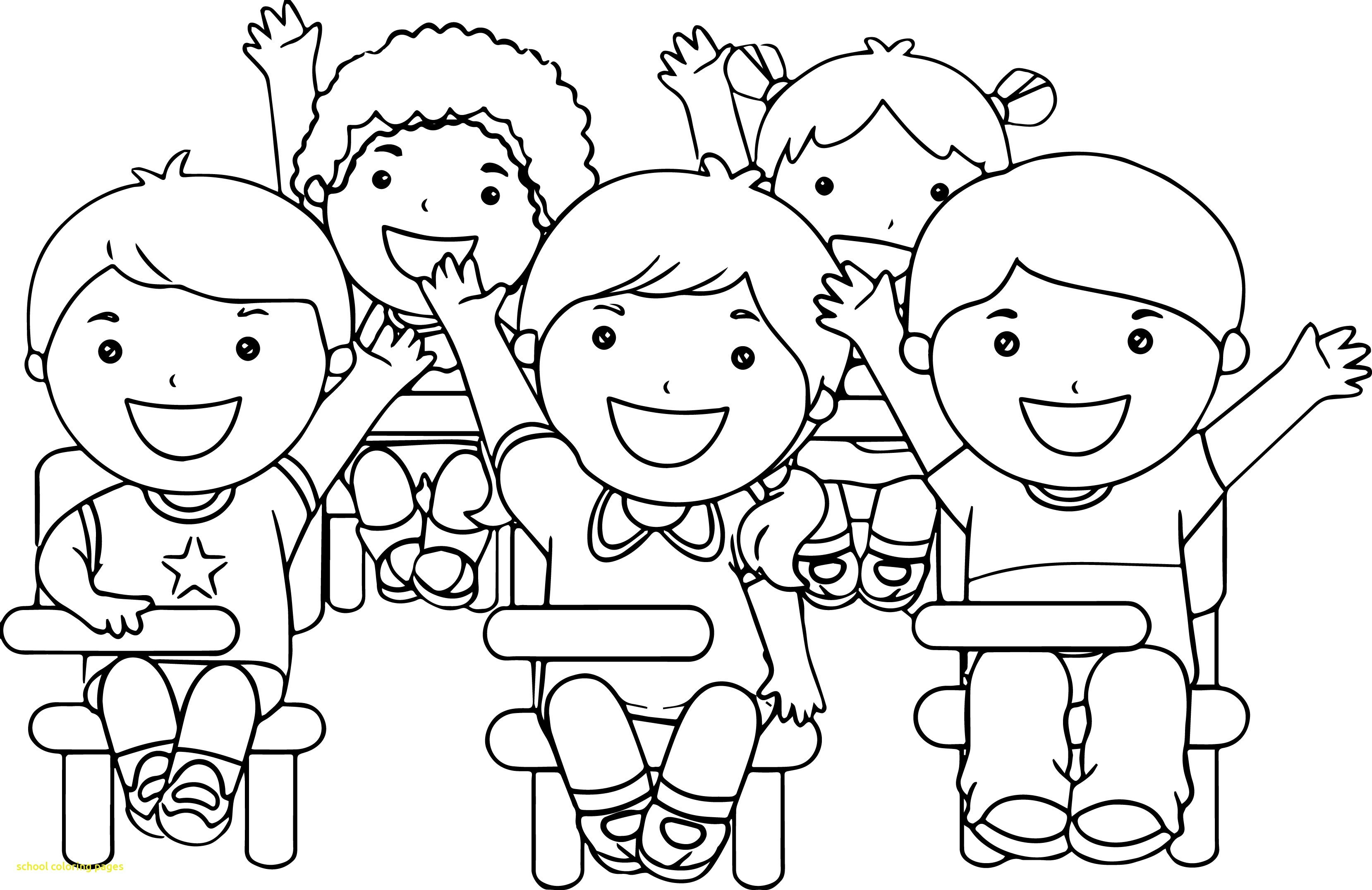 3317x2152 School Building Coloring Page Free Printable Pages Lively For Acpra