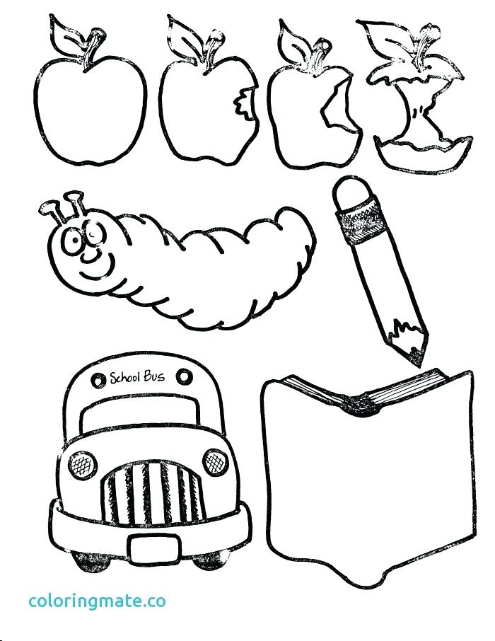 700x906 School Building Coloring Pages To Print Unique Page Of A Beautiful