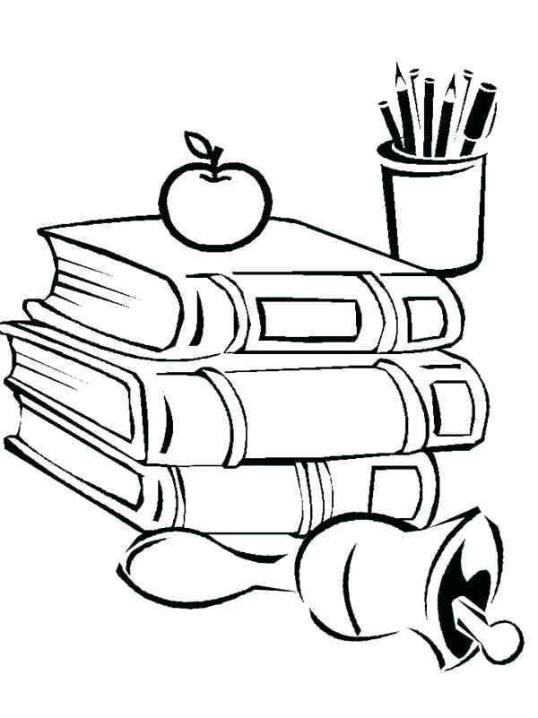 600x801 Back To School Coloring Sheets