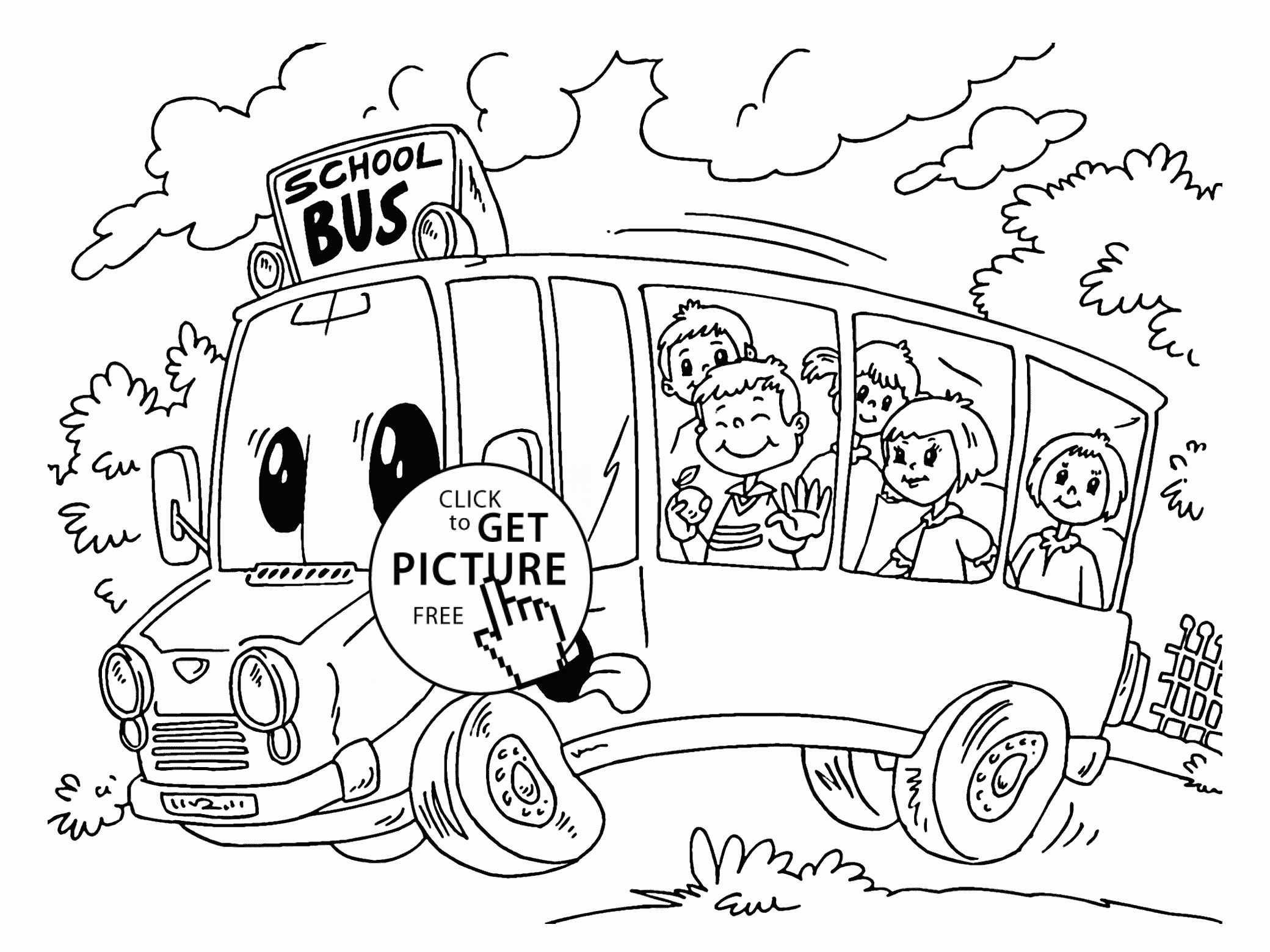 2080x1560 Cool Back To School Coloring Page For Preschool Back To School