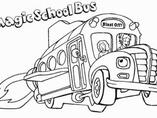 320x240 Magic School Bus Coloring Pages Printable Coloring Pages