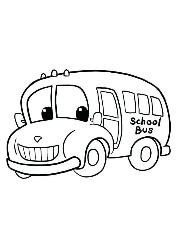 600x776 Picture Of School Bus To Color Wheels On The Bus Coloring Page