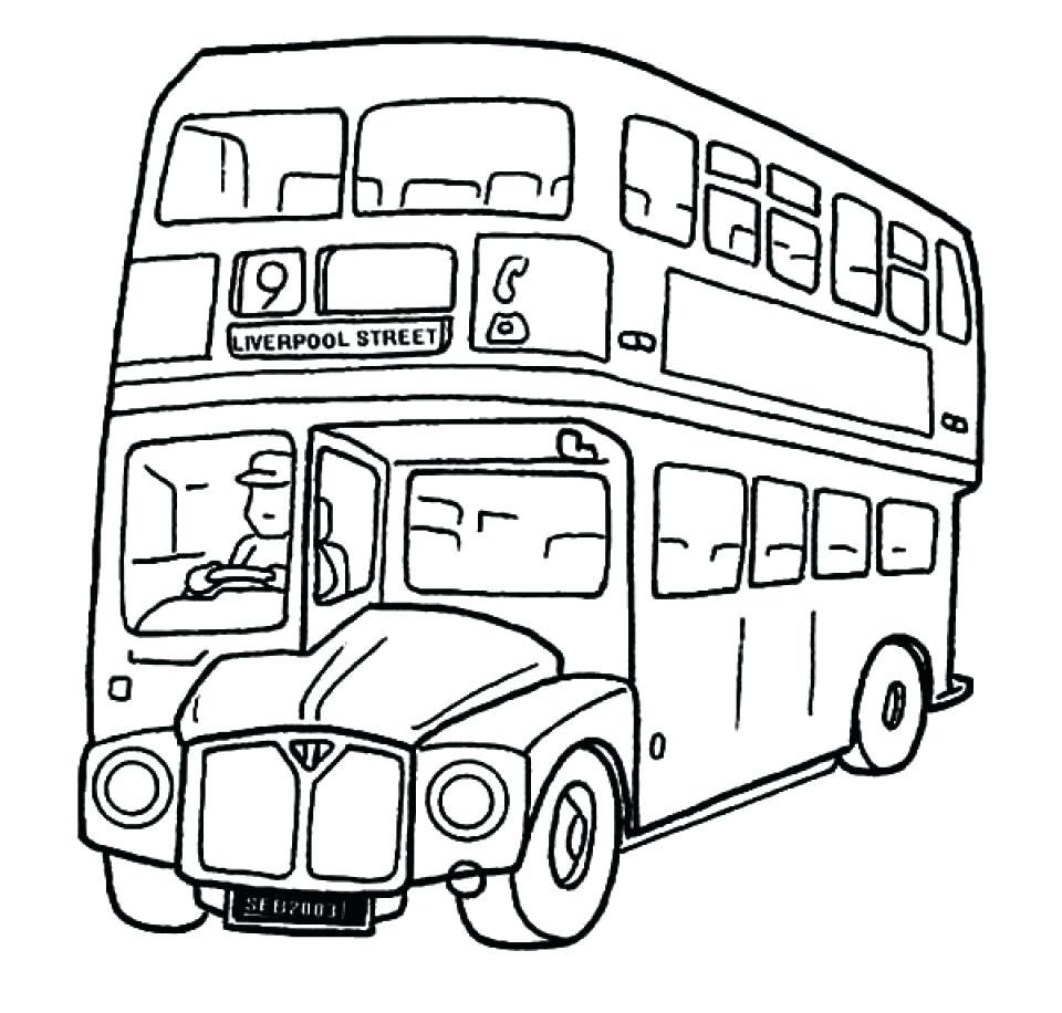 960x916 New Buses Coloring Pages Design Printable Coloring Sheet